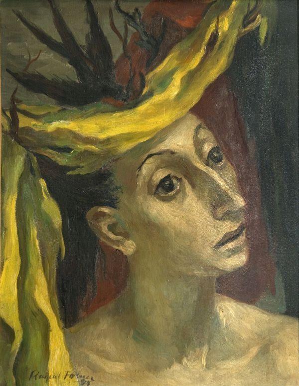 Raquel Forner | Presagio | 1949 | Óleo sobre tela | 50 x 40 cm
