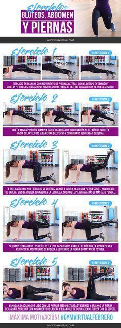 ¿Os animáis con estos ejercicios de glúteos, piernas y abdomen paso a paso? Es lo que en los gimnasios se llama GAP, porque trabajas solo estas 3 partes del cuerpo. Recordad que tenéis que realizar los ejercicios a consciencia, y estar el máximo concentra