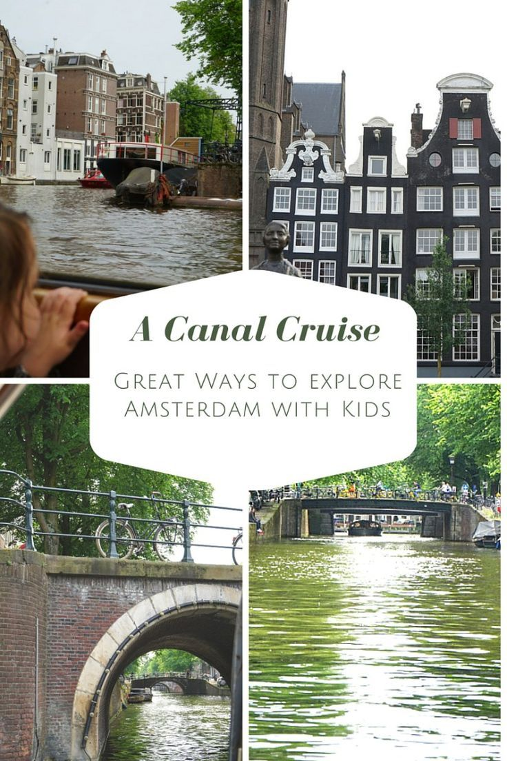 A canal cruise is a brilliant way to explore Amsterdam as a family, it's such a family friendly city, great for a family city break.
