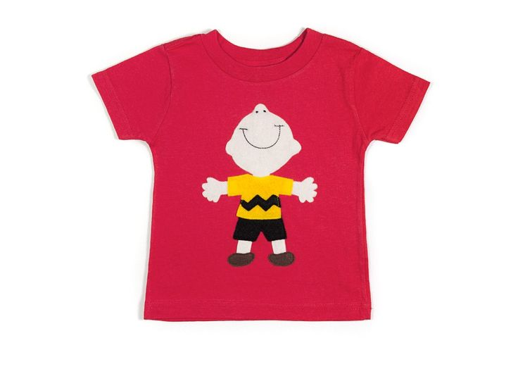 Good grief! Charlie Brown is a beloved American children's icon who definitely belongs on a kid's T-shirt.