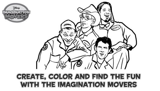 Imagination Movers Coloring Pages Kiddos Pinterest Imagination Movers Coloring Pages
