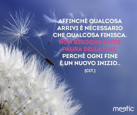 #ogni #fine #é #un #nuovo #inizio