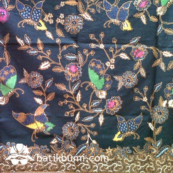 Detail batik tulis #lawasan motif kupu