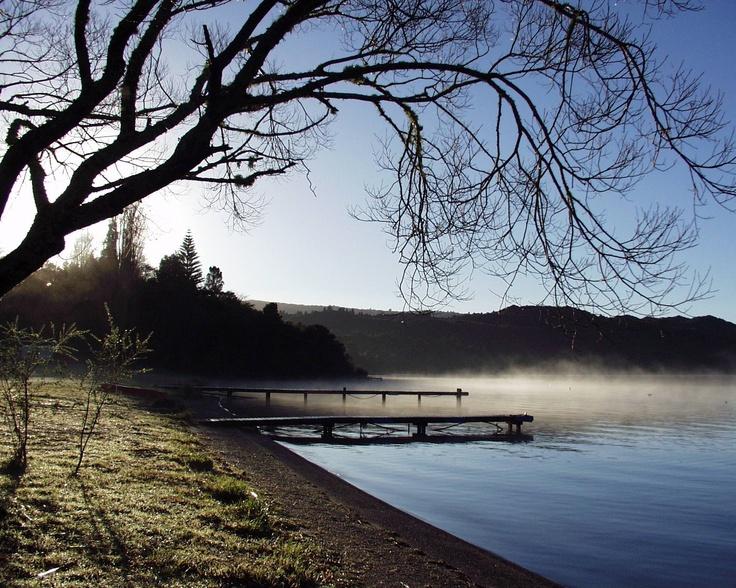 Te Karamea at Lake Tarawera, New Zealand. Always in our hearts