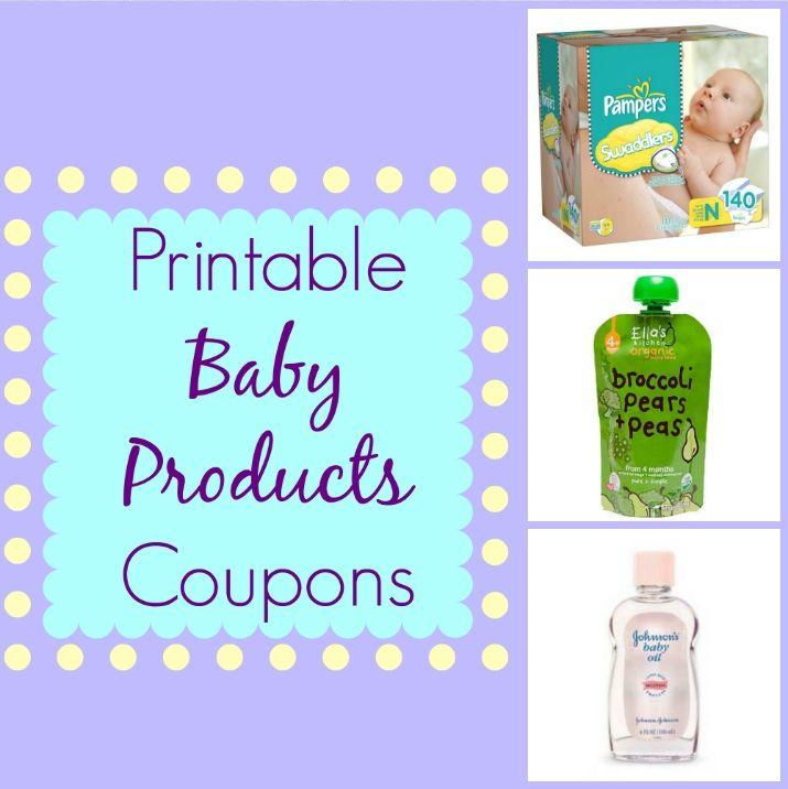 Big list of Printable Baby Coupons!!!