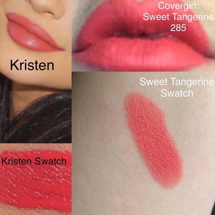 """Kylie Kristen Dupe Kylie Cosmetics Liquid Lipstick """"Kristen"""" Dupe, Covergirl's…"""