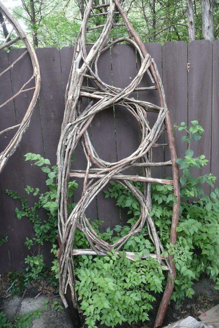 Vine trellis Garden Art
