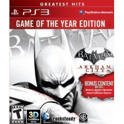 "Developed by Rocksteady Studios, Batman: Arkham City builds upon the intense, atmospheric foundation of Batman: Arkham Asylum, sending players soaring into Arkham City, the new maximum security ""home"" for all http://bestgames.bestcutegifts.com/"