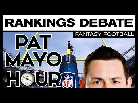 2016 Fantasy Football Week 10 Rankings Debate & Trade Deadline Buys & Sells: Starts, Sits, Sleepers