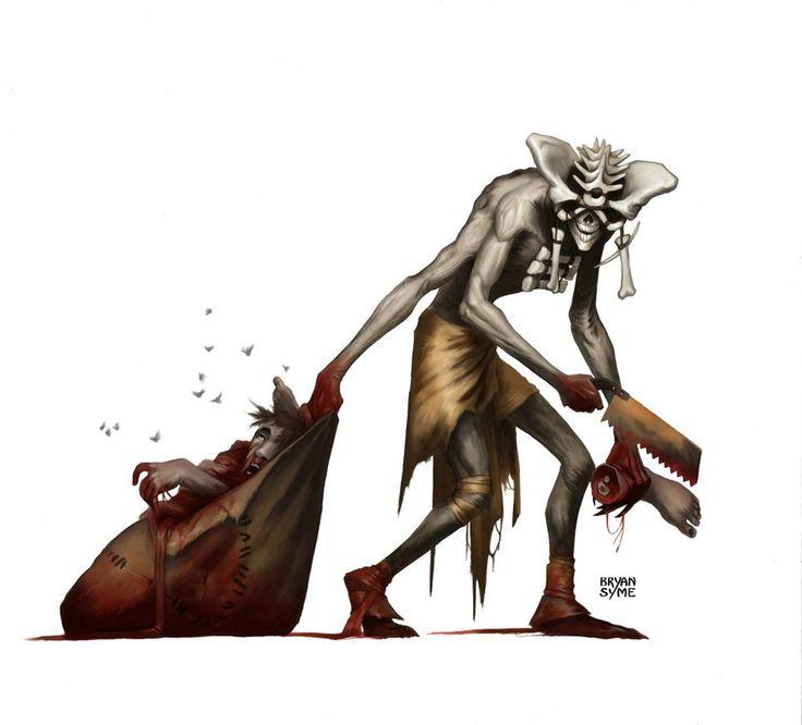 152 best Nightmare Section images on Pinterest   Demons, Digital art ...