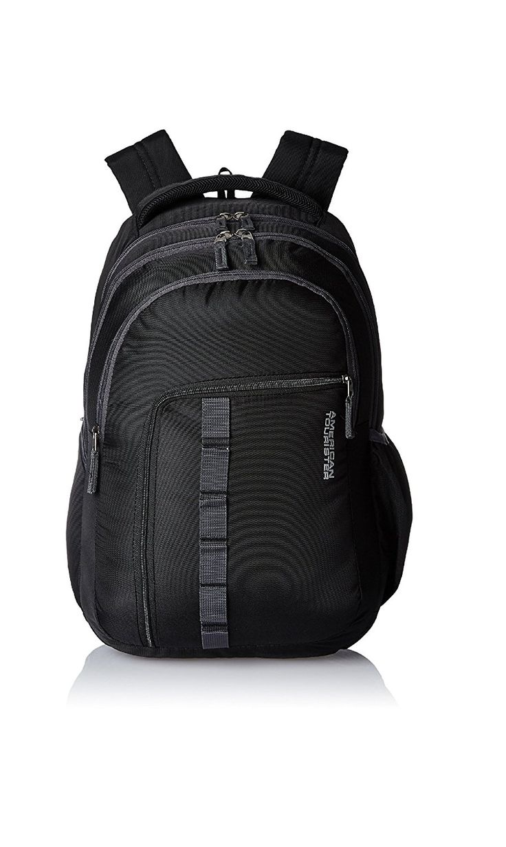 Laptop bags below 500 - American Tourister 27 Lts Comet Black Laptop Backpack 18