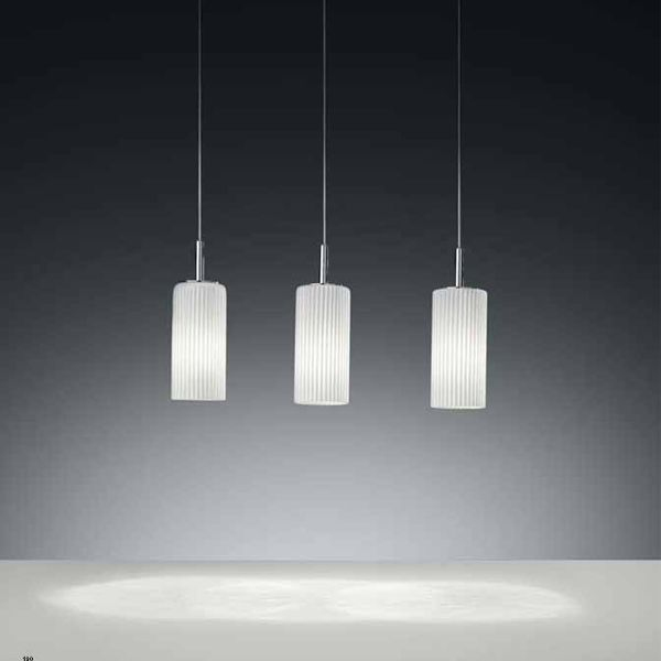 CAPTIVATING, HAND-BLOWN ITALIAN GLASS PENDANT WITH THE PERFECT COMBINATION OF STYLE AND FUNCTIONALITY.  Item #IVG 0030