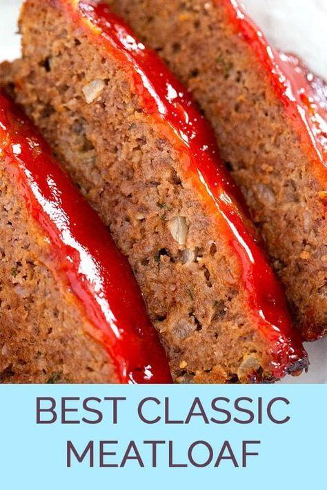 El mejor pastel de carne clásico   – Yummy Meats