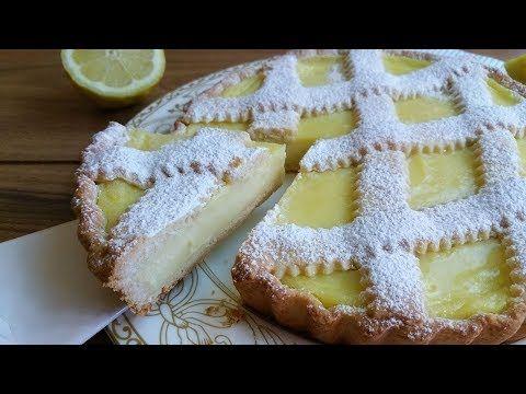 Crostata alla crema di limoni,   RICETTA PERFETTA e FACILE - YouTube