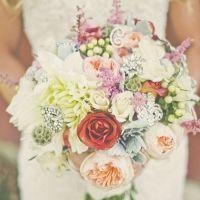 Rustic Bouquet #weddings #flowers