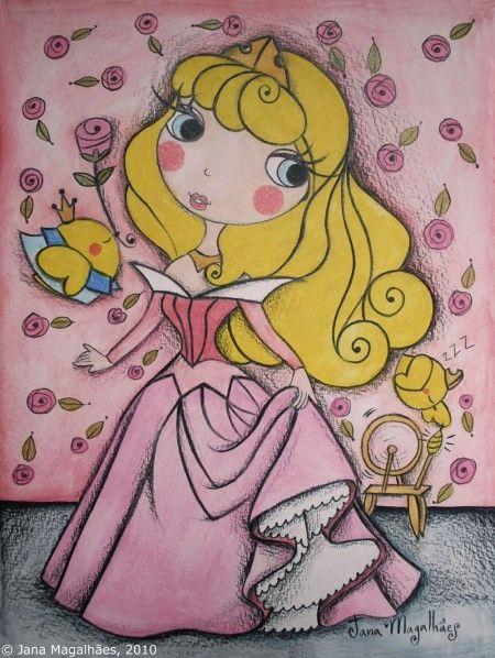 A bela adormecida – Sleeping Beauty by Jana Magalhães