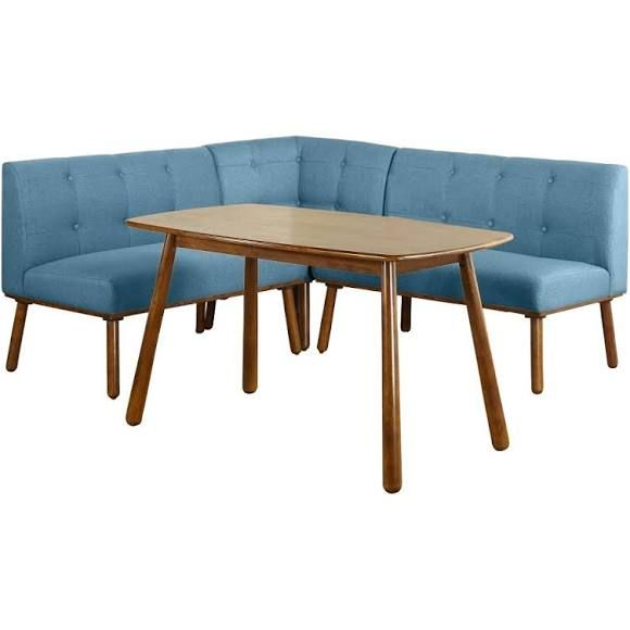 4pc Playmate Nook Dining Set - Blue - Buylateral