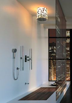 :): Interior Design, Showers, Open Shower, Bathroom Interior, Interiors, Dream House, Bathroom Ideas, Modern Bathrooms