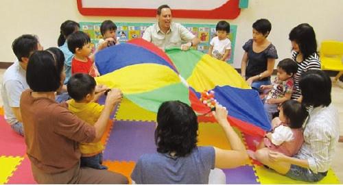 遊びながら学べる幼児教室 エカマイゲートウェイの幼児英語教室「フォニックス・ファースト」