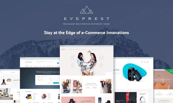 Eveprest [PrestaShop Multipurpose Responsive Theme] Coming Soon