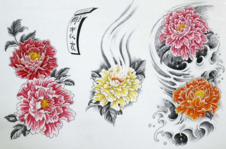 what does a peony tattoo mean - Google Search