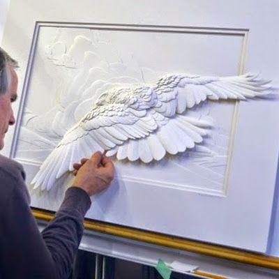 Calvin Nicholls, La Magia en Esculturas de Papel