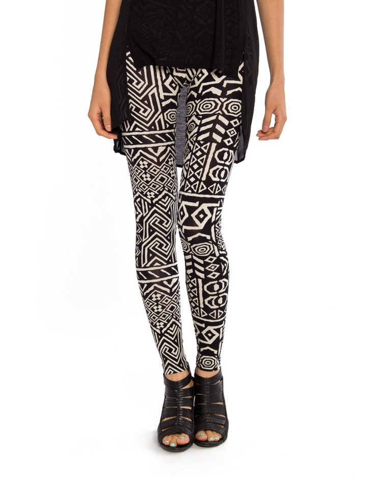 Doodle Tribal Leggings Sooo want these. Yes please.