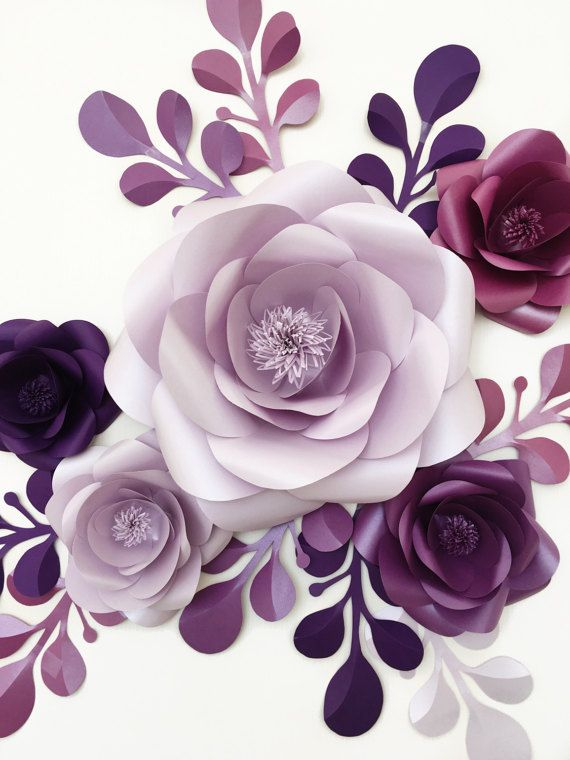 For a special magic party add paper flowers! This stylish mini backdrop is a perfect decoration and features a splash of charming paper flowers in purple and lavender colors with leaves bunches. We believe lavender and purple color combination might be perfect for princess themed backdrop. This mini paper flower set will for sure add an elegant and charming vibe to your baby party celebration, right? This Birthday Paper Flower Mini Backdrop of 5 Unique Large Paper Flowers + 9 paper leaves…