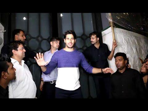 WATCH Sidharth Malhotra spotted at Editor Jitesh Pillai's Birthday Party 2016. See the full video at : https://youtu.be/1AHrCybcaGw #sidharthmalhotra #bollywoodnewsvilla