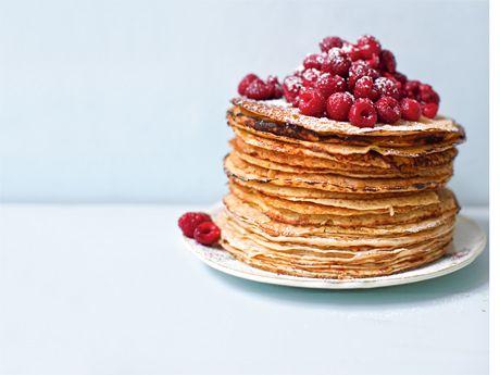 Pannkaka utan mjölk och mjöl, Receptbild - Allt om Mat