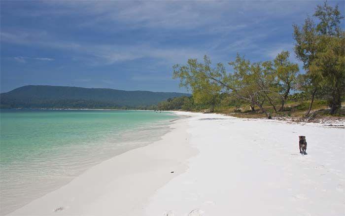 Rabbit Island of Koh Tonsay is een van onze favoriete strandbestemmingen in Cambodja! Rondreis - Vakantie - Cambodja - Kep - Rabbit Island - Koh Tonsay - Original Asia.nl