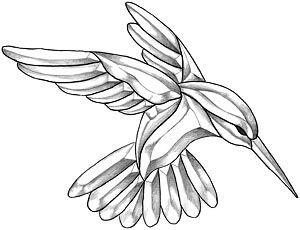 stain glass color book humming birds | large hummingbird bevel cluster glassmith studios premium bevel ...
