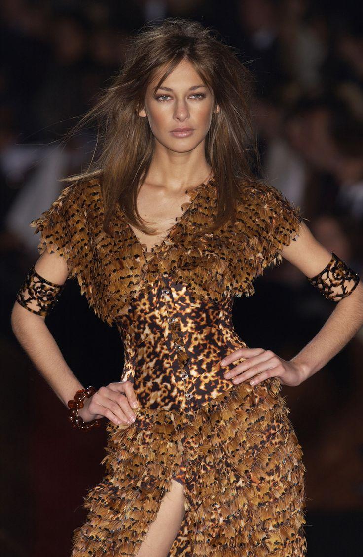 Roberto Cavalli at Milan Fashion Week Spring 2003 ...