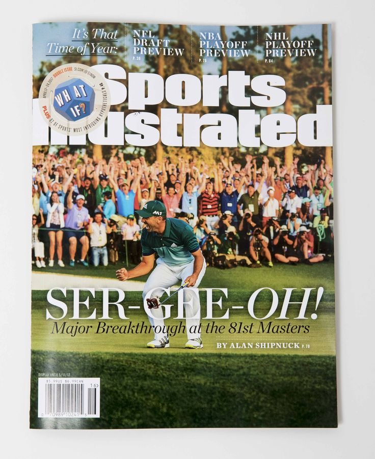 Pin by GolfToons on Sports Illustrated Covers Golf in 2020