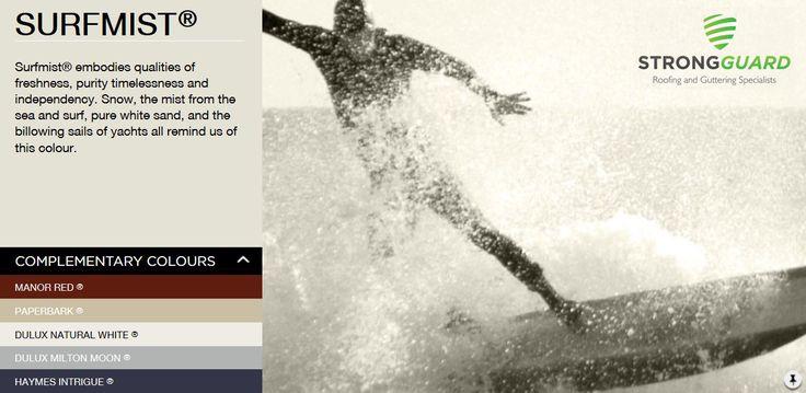 Surfmist - Strongguard  Colorbond Roof & Guttering Colour