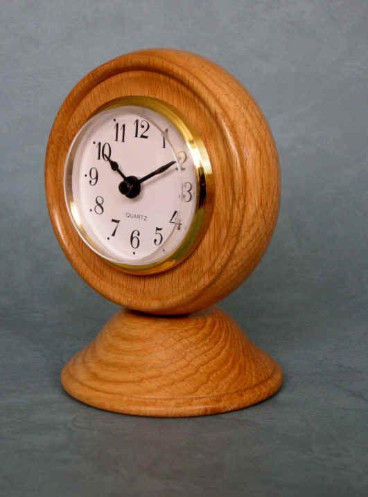 1000 Images About Wood Turned Desk Clocks On Pinterest