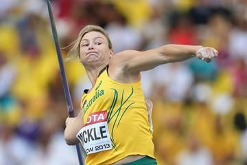 IAAF: Kim Mickle - the little girl from Perth who likes to throw things | iaaf.org