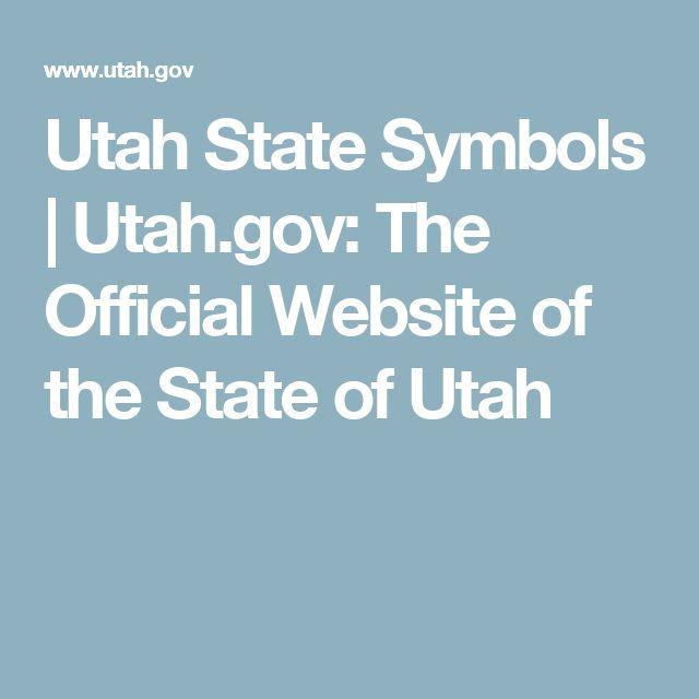 Utah State Symbols | Utah.gov: The Official Website of the State of Utah