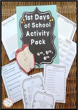 "Here is a great back to school activities pack for upper elementary. These 1st day of school activities will make back-to-school a breeze. The engaging 1st week back to school activities include: •	Back to School Interest Inventory •	My Favorite Summer Memory •	20 Good Things about me •	Back to School Scavenger Hunt (friends) •	Back to School Partner Interview •	""I Am"" poem directions •	""I Am"" poem template • + More"