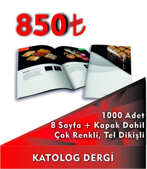Katalog Baskı Fiyatları