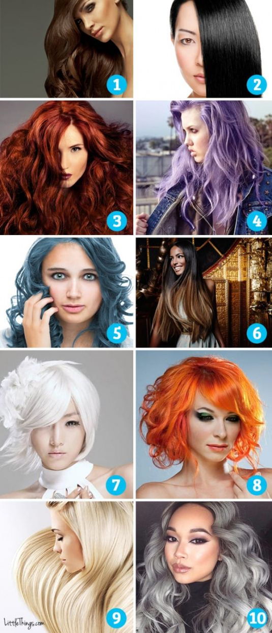 What is My Natural Hair Color Quiz - Best Natural Hair Color for Grey Check more at http://frenzyhairstudio.com/what-is-my-natural-hair-color-quiz/
