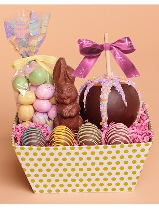 52 best spring easter gifts images on pinterest belgian bunny easter gift tray get a taste of some of our gourmet easter and spring negle Images