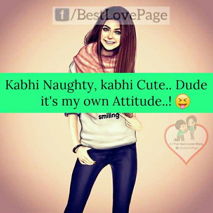 Cute Attitude Girl Quotes: 25+ Best Girls Attitude Quotes On Pinterest