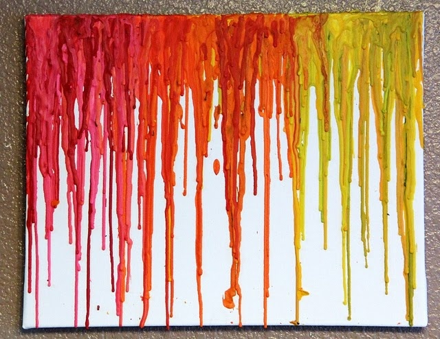 17 best images about melted crayon art diy and for Melted crayon art techniques