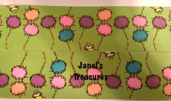 The Lorax Trees 3 yards for only 350 by JanelsTreasures on Etsy, $3.50