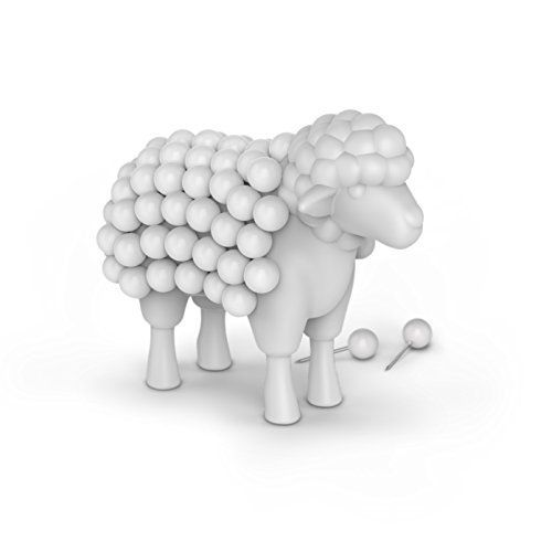 Fred STUCK ON EWE Sheep Push Pin Holder - The Quick Gift