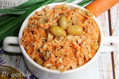 Di gotuje: Surówka z marchewki z pestkami słonecznika i deren...