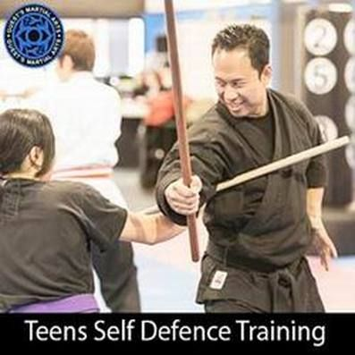 Weapons training is also something that needs to be studied. You naveer know what the other person may have with them and if you have some experience with weapons, be it a knife or a stick it might make a difference in you surviving.   http://www.guestsmartialarts.com.au/teens-martial-arts.html