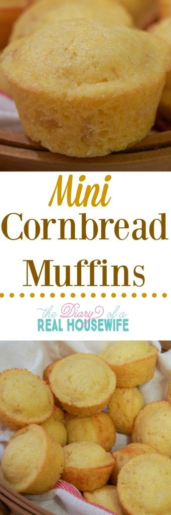I love these little mini corn bread muffins! I was called corn bread head as a child, not even kidding. I know corn bread and this recipe.. Is amazing! (Mini Muffin For Kids)