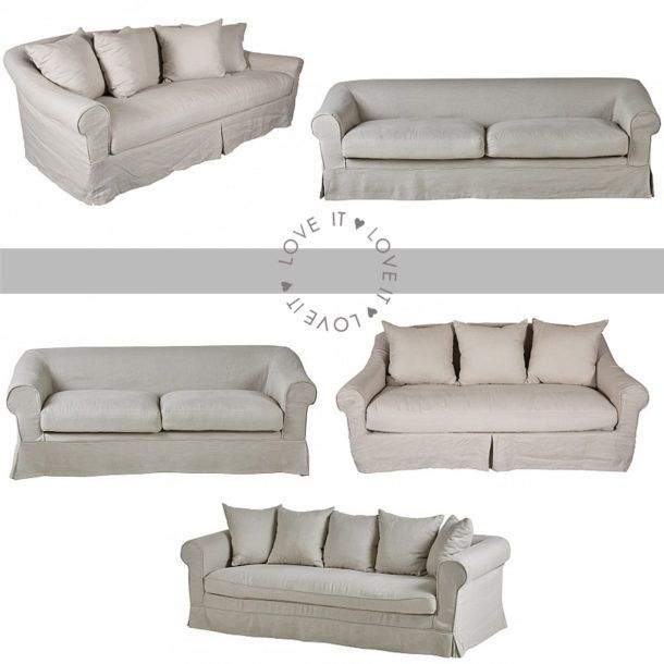 Trade Secret: Linen Sofas Are All The Rage - SA Décor & Design Blog